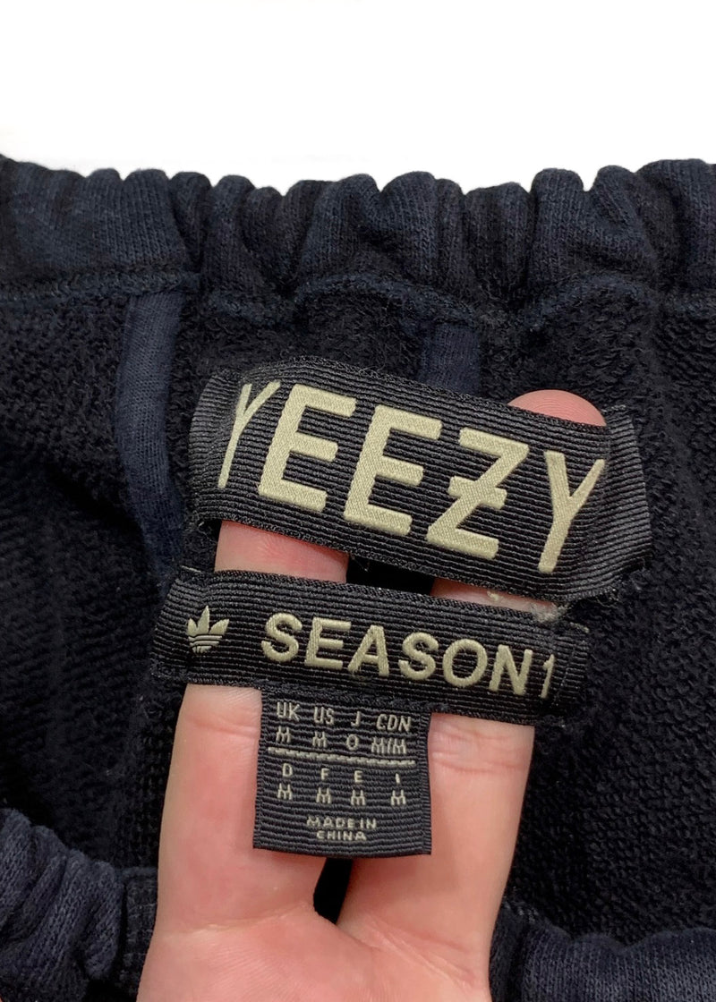 Yeezy Black Season 1 SFT Long John Sweatpants