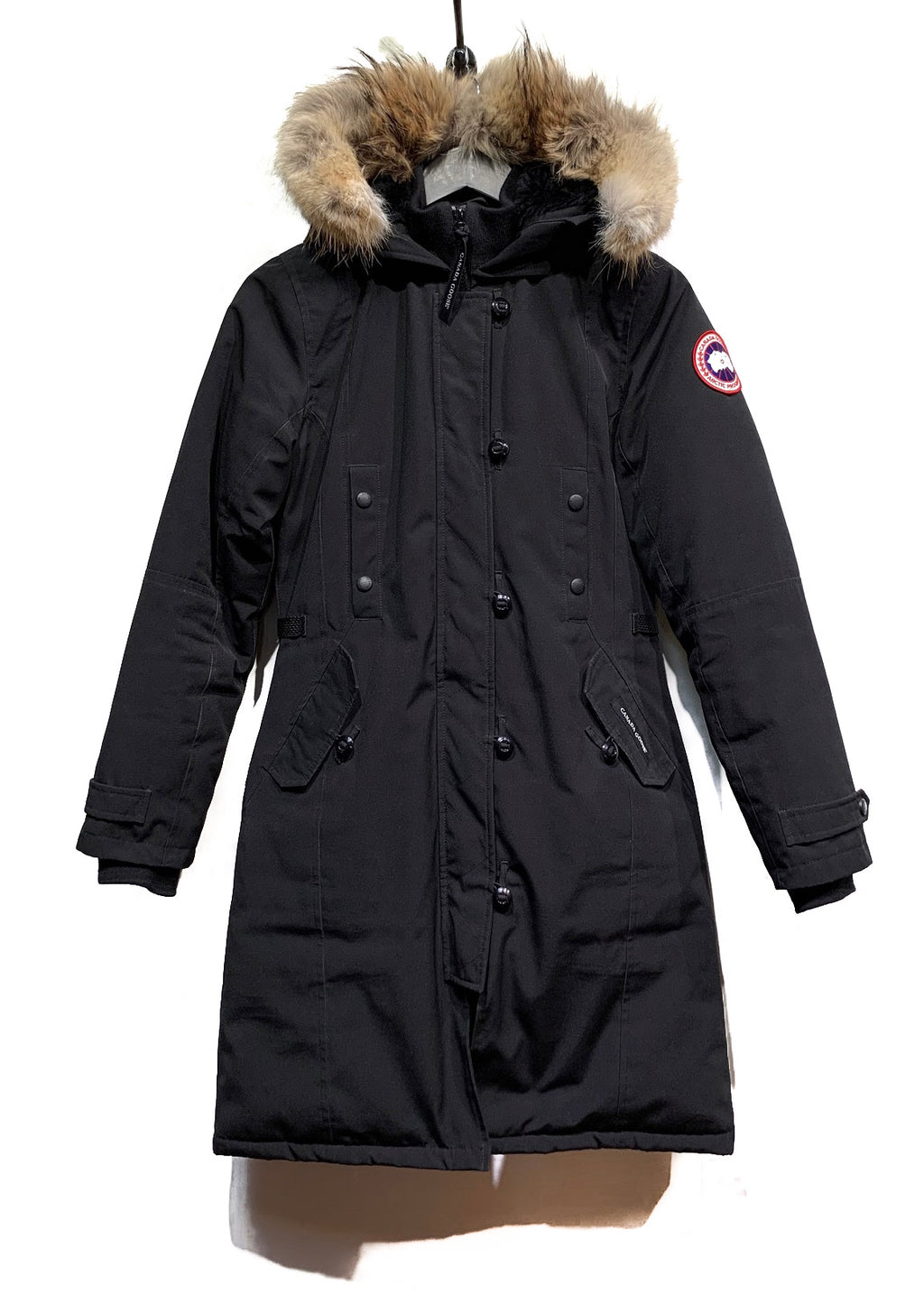 Canada Goose 2506L Black Kenzington Down Filled Parka