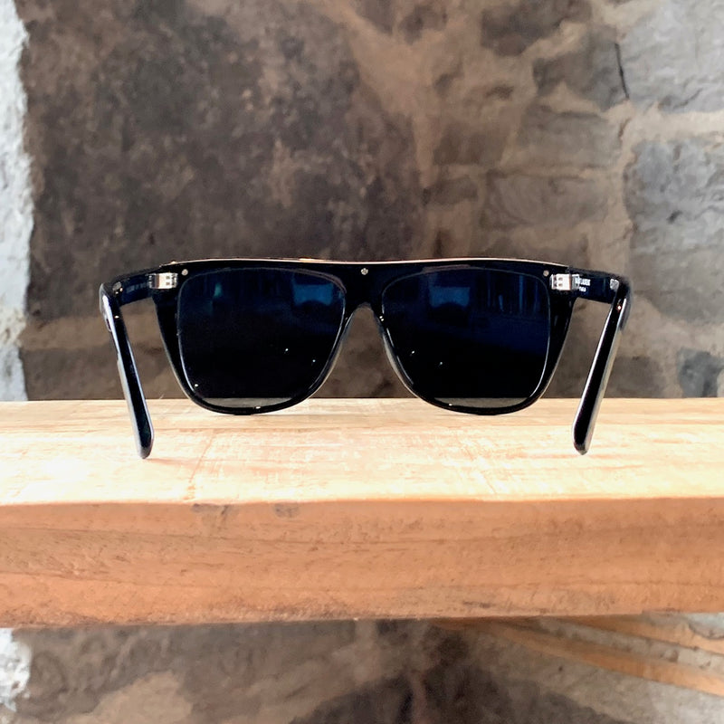 Saint Laurent Black Silver SL1 Combi Acetate Sunglasses