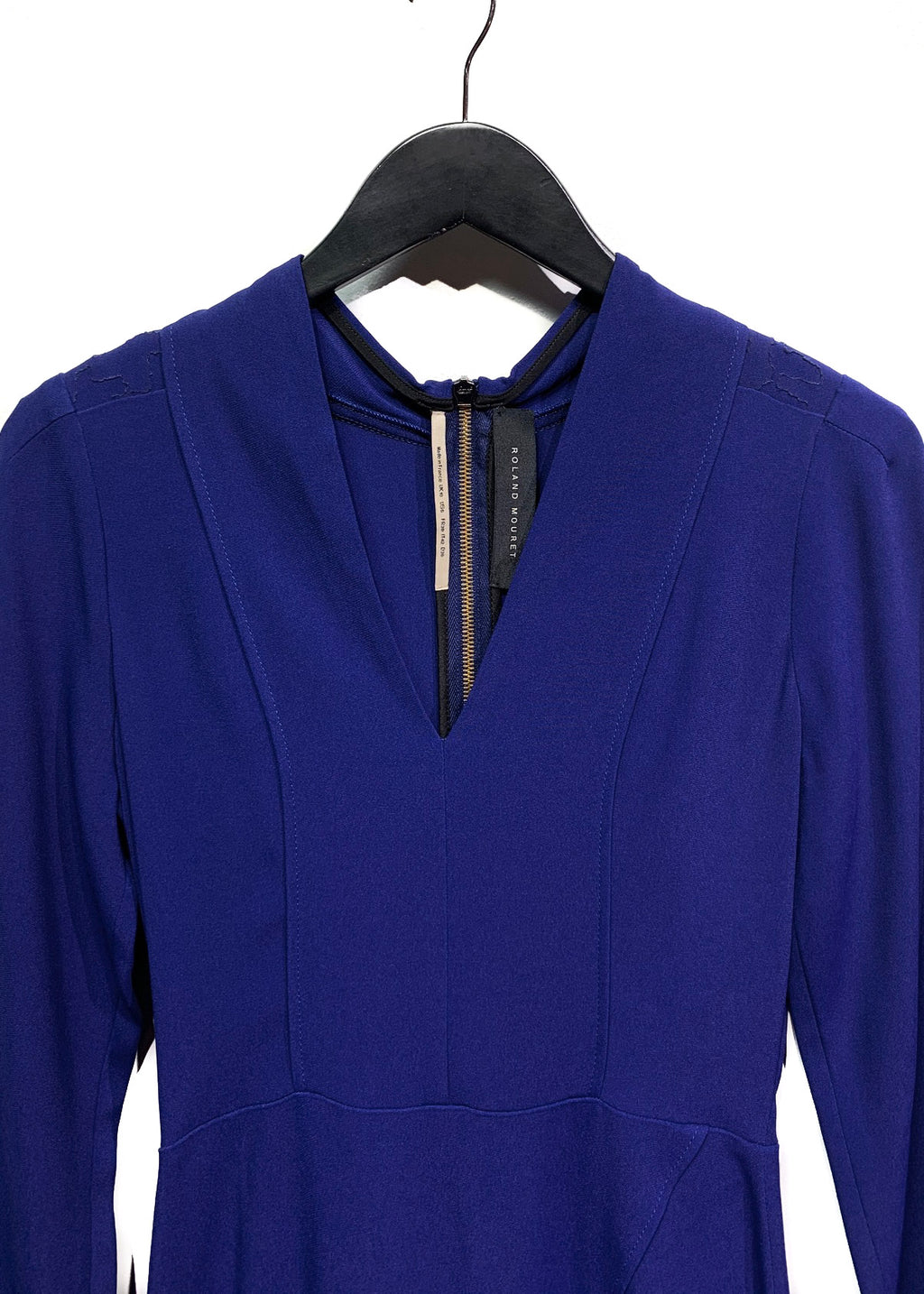Roland Mouret Cobalt Midi Dress