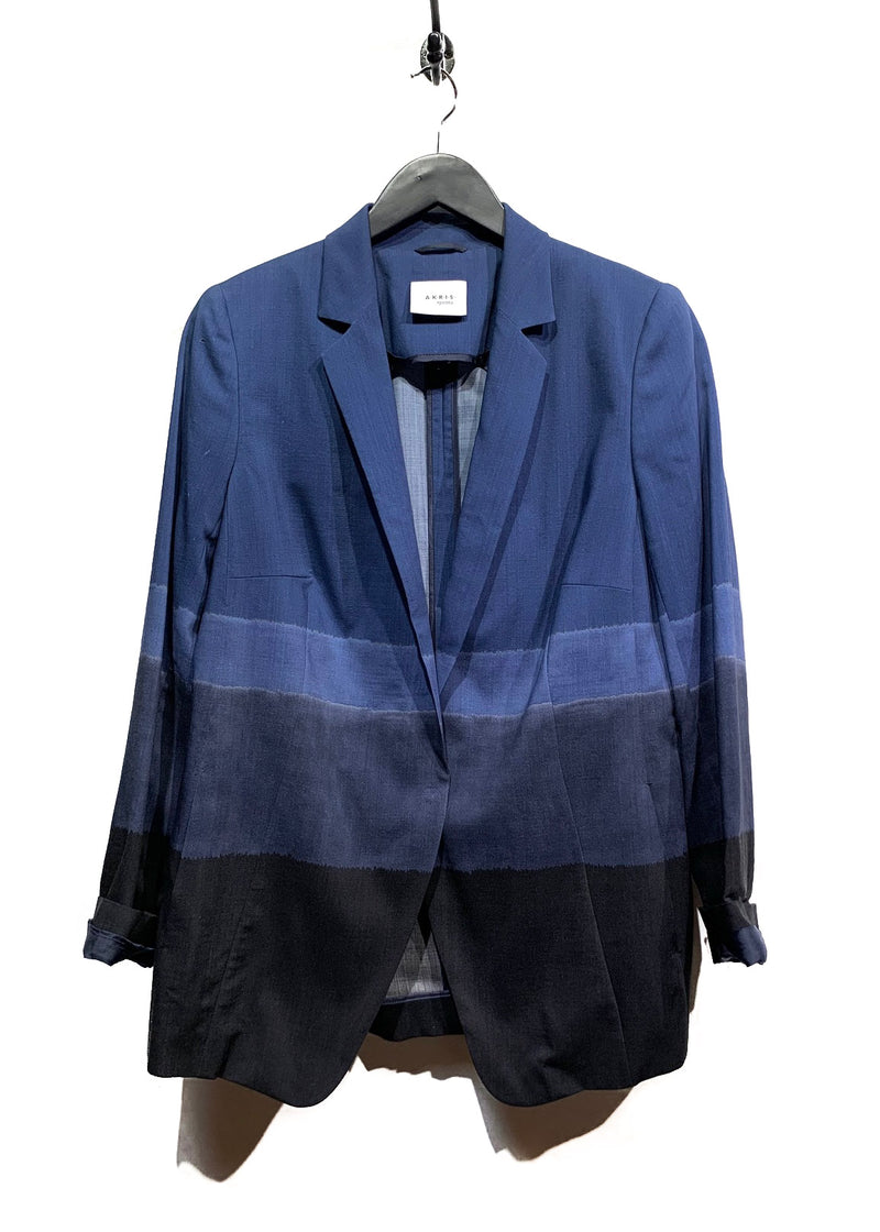 Akris Punto Horizontal Stripes Blazer
