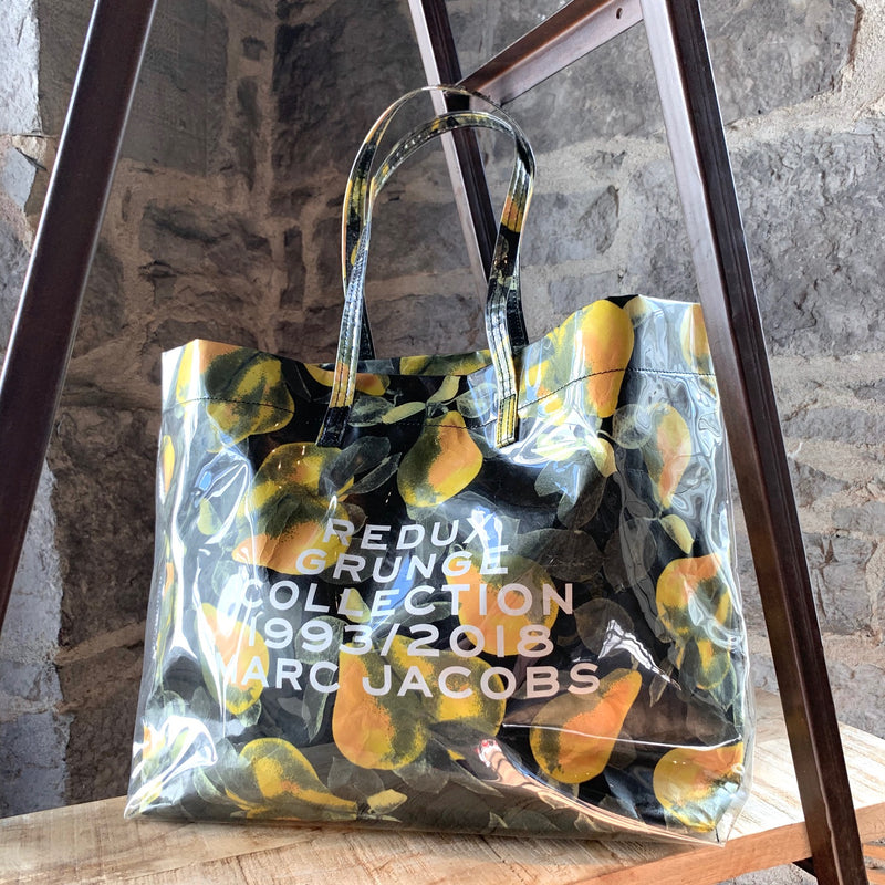 Marc Jacobs Redux Grunge Pear Printed Tote Bag