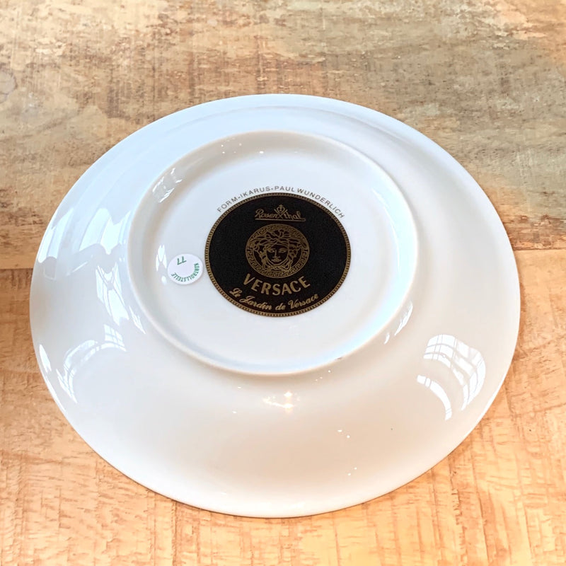Versace Meets Rosenthal Butterfly Garden Cup And Saucer