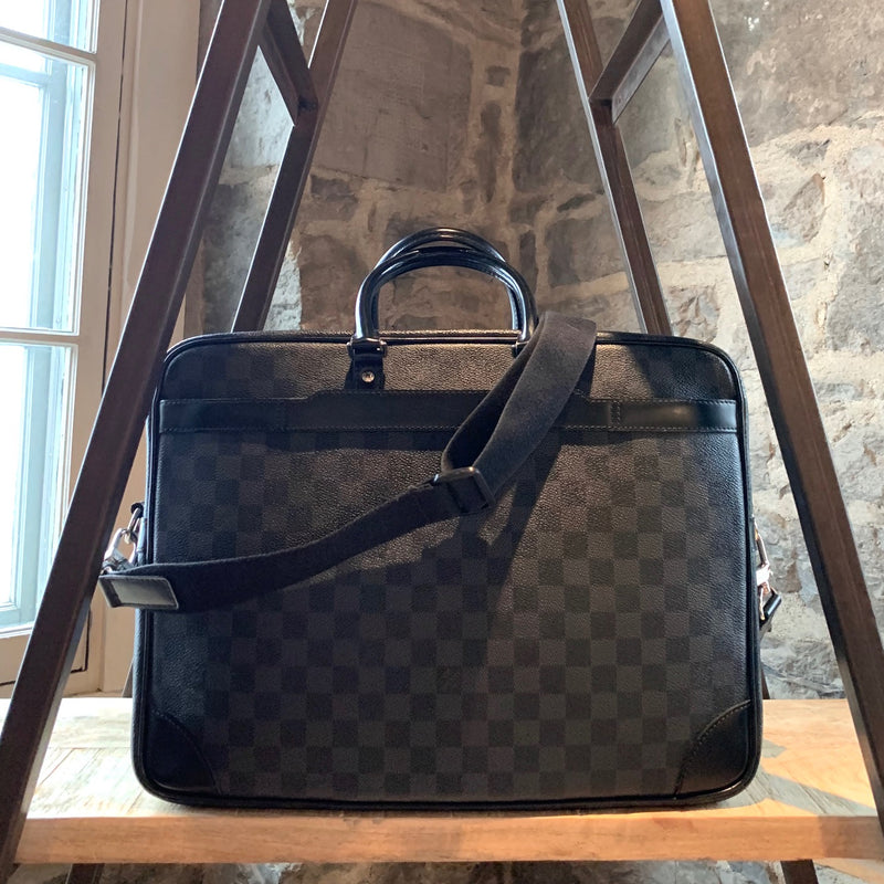 Louis Vuitton Graphite Damier Porte Documents Voyage GM