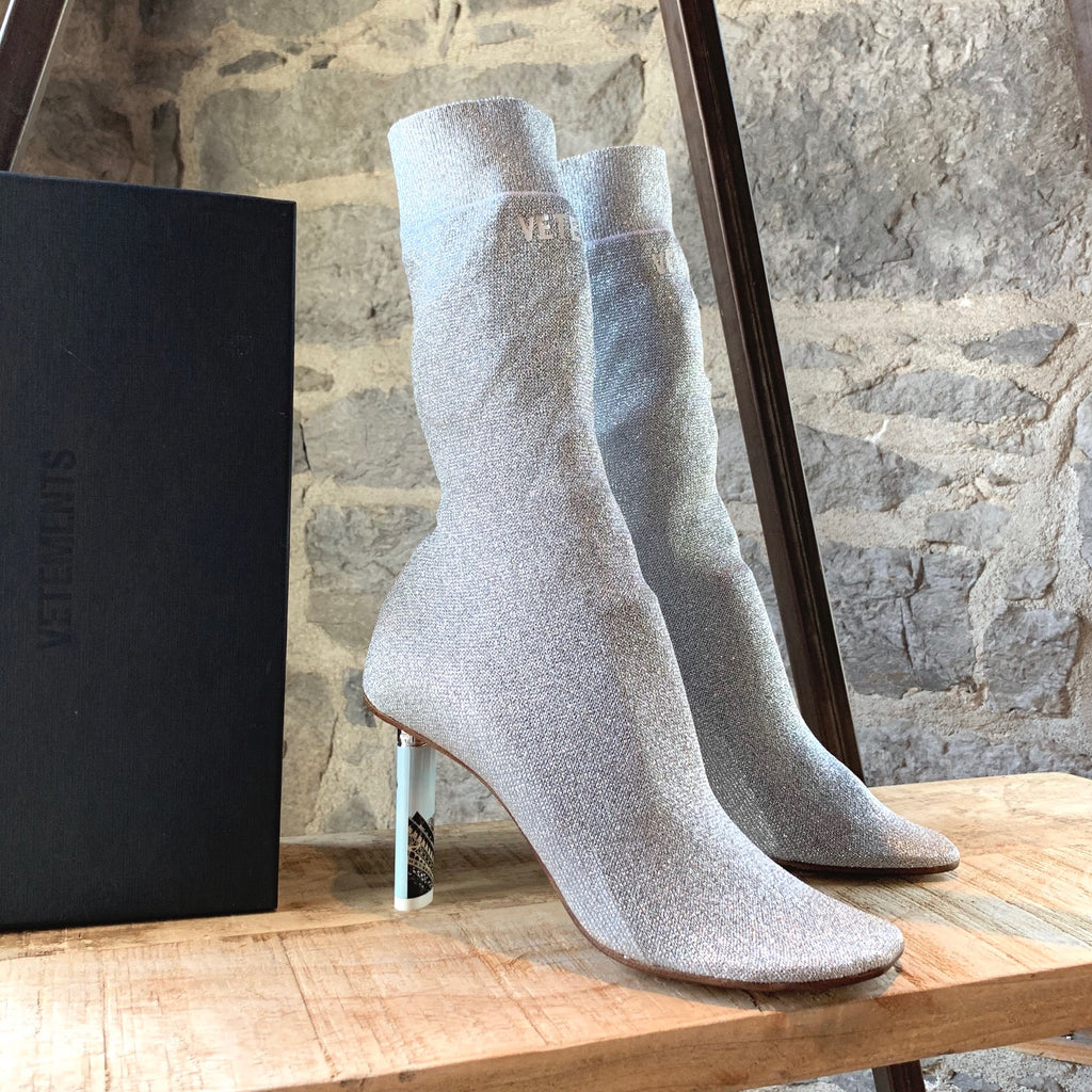 Vêtements Silver Sock Lighter Booties