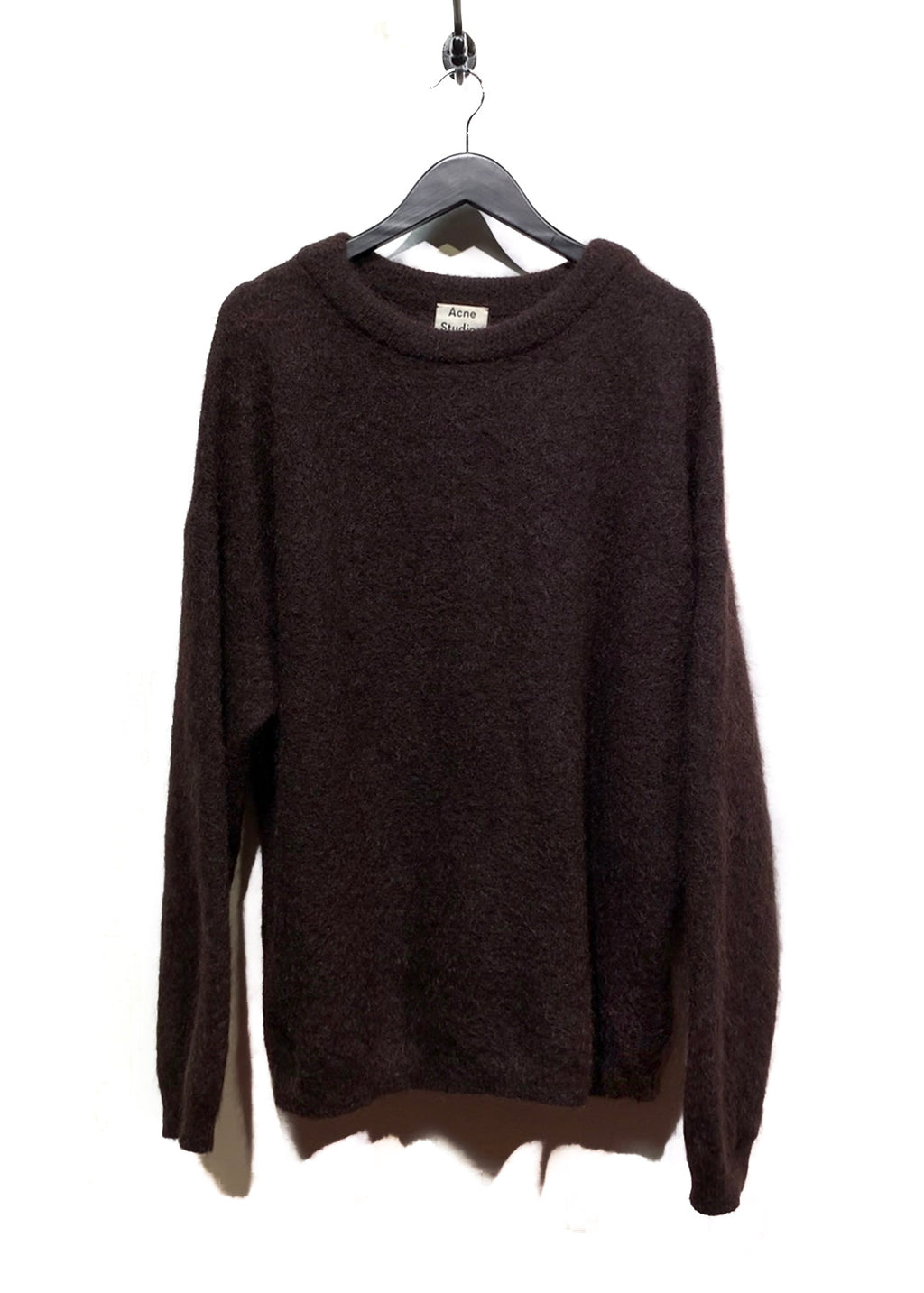 Acne Studios Brown Dramatic Moe Mohair Blend Sweater