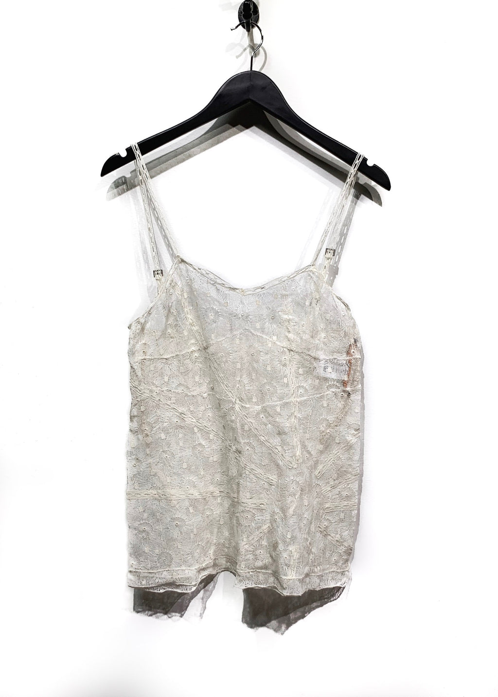 Stella McCartney Ivory Lace Cami Tank Top