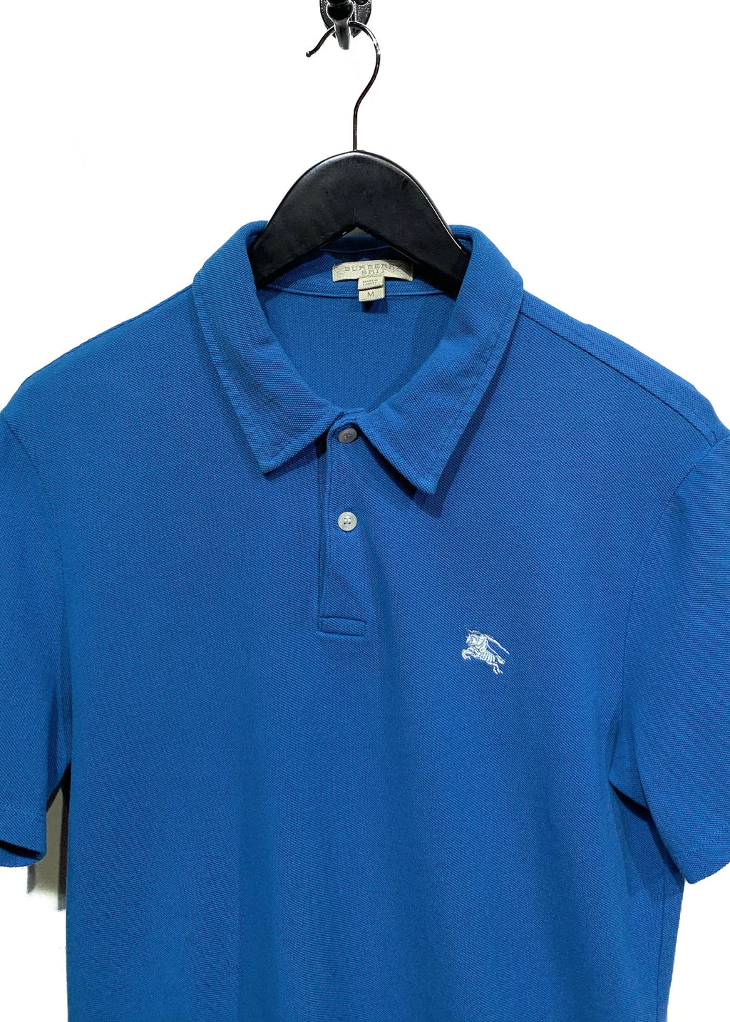 Burberry Blue Classic Iconic Polo Shirt