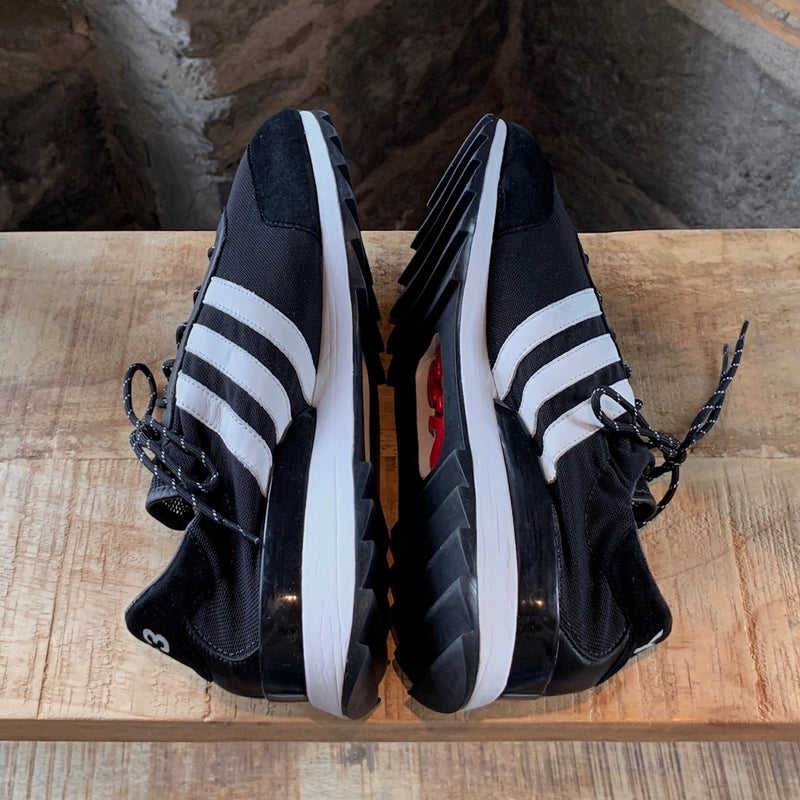 "Y-3 Adidas ""Hi! My Name Is Yohji"" Black Sneakers"