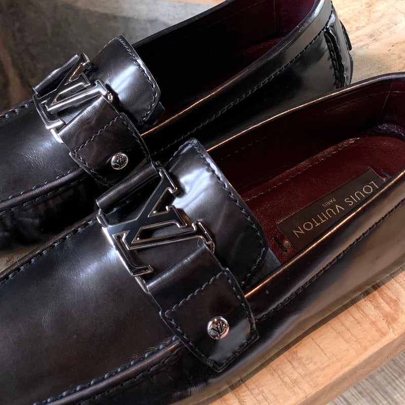 Louis Vuitton Monte Carlo Brown Patent Leather Loafers