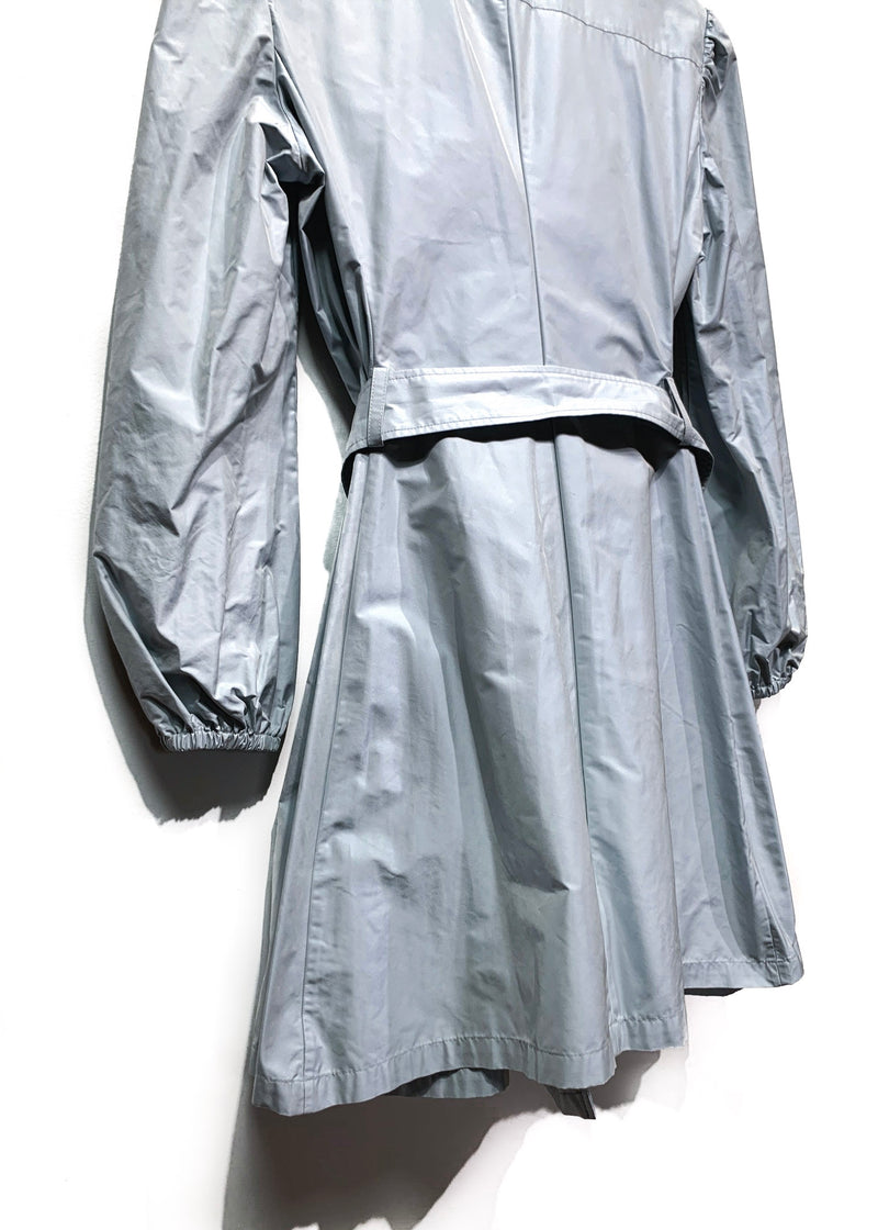 Prada Baby Blue Trench Coat