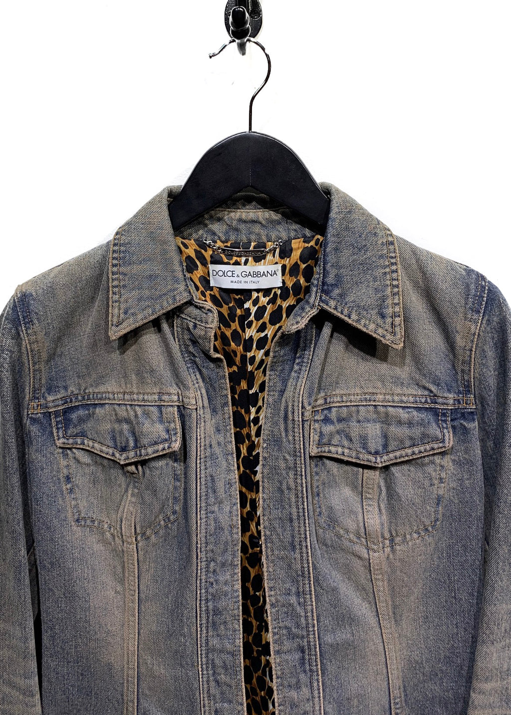 Dolce & Gabbana Washed Out Denim Jacket