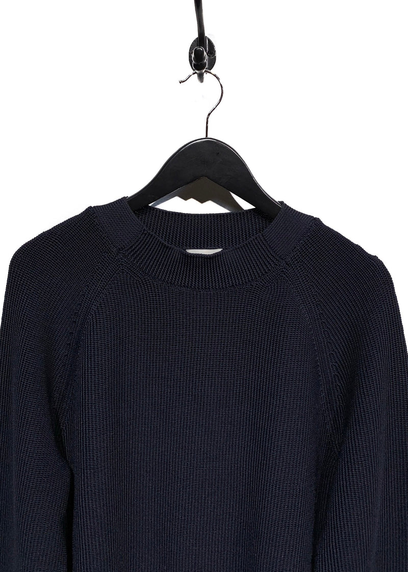 Dries Van Noten Navy Crewneck Sweater
