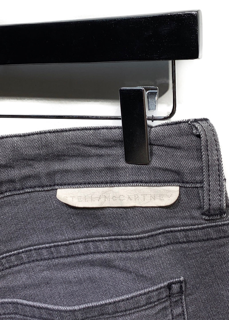 Stella McCartney Grey Dégradé Skinny Jeans