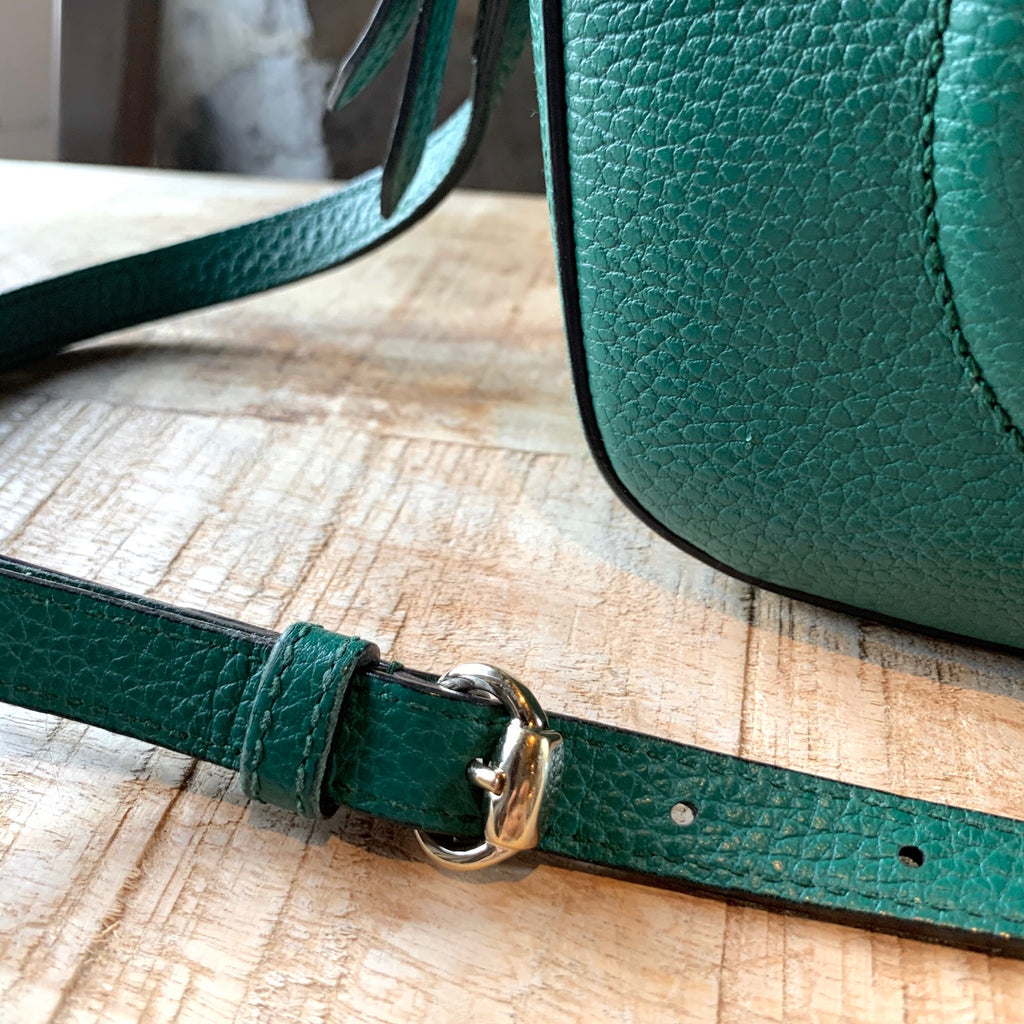 Gucci Green Disco Soho Crossbody Bag