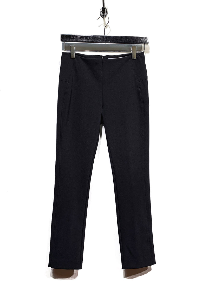 Veronica Beard Black Stretch Legging Trousers