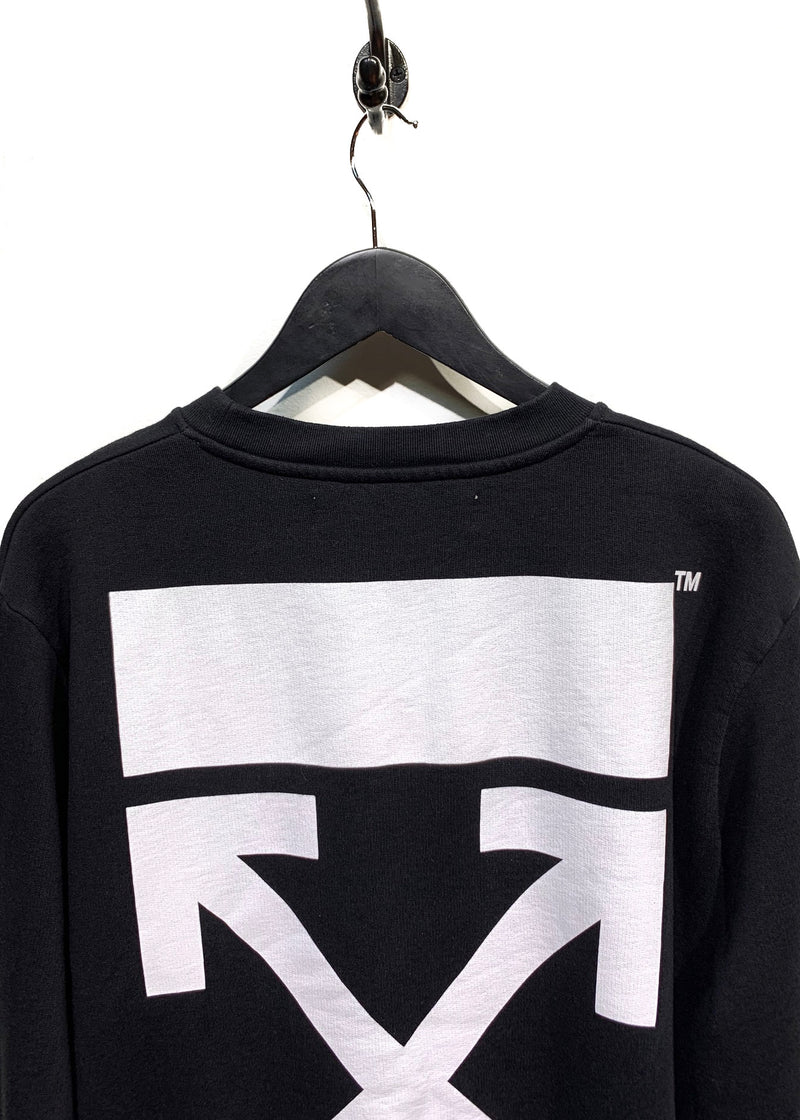 Off-White Tiger Embroidered Side Zippered Sweatshirt