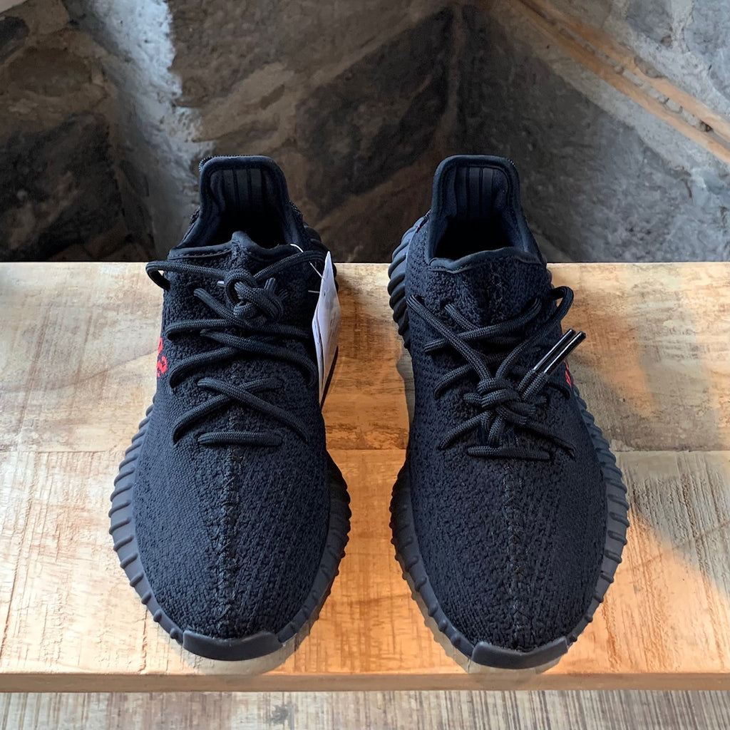 Adidas Yeezy Boost 350 V2 Black Red Sneakers