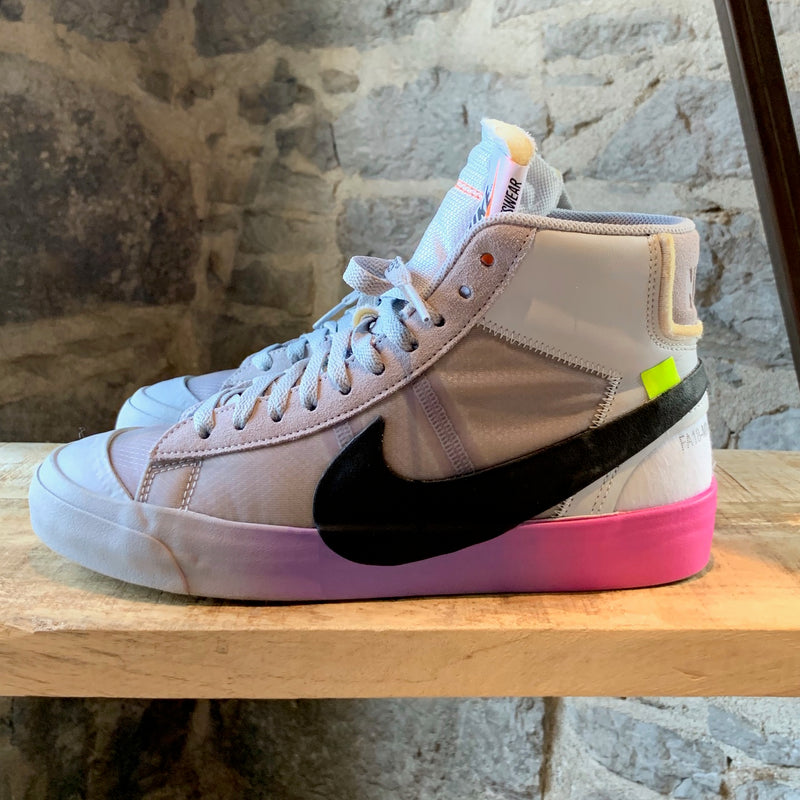 Nike x Off-White The Wolf Grey Blazer Serena Queen Sneakers