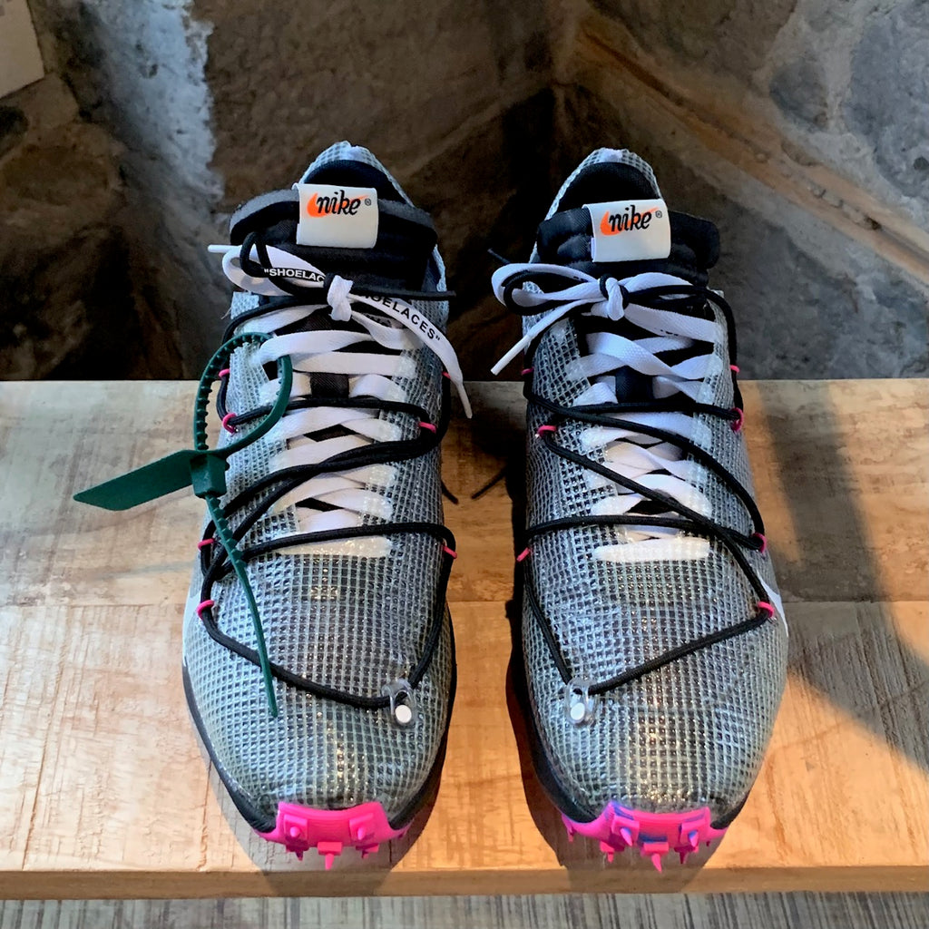 Off-White X Nike Vapor Street Black Laser Fuschia Sneakers