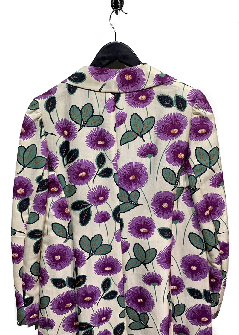Marni Floral Print Top Coat