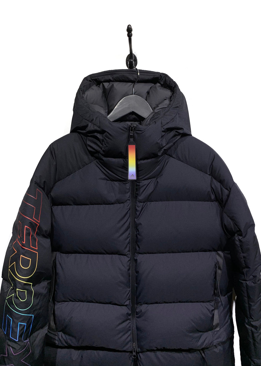 Adidas Kith Terrex Multicolour Detailed Convertible Bomber Jacket