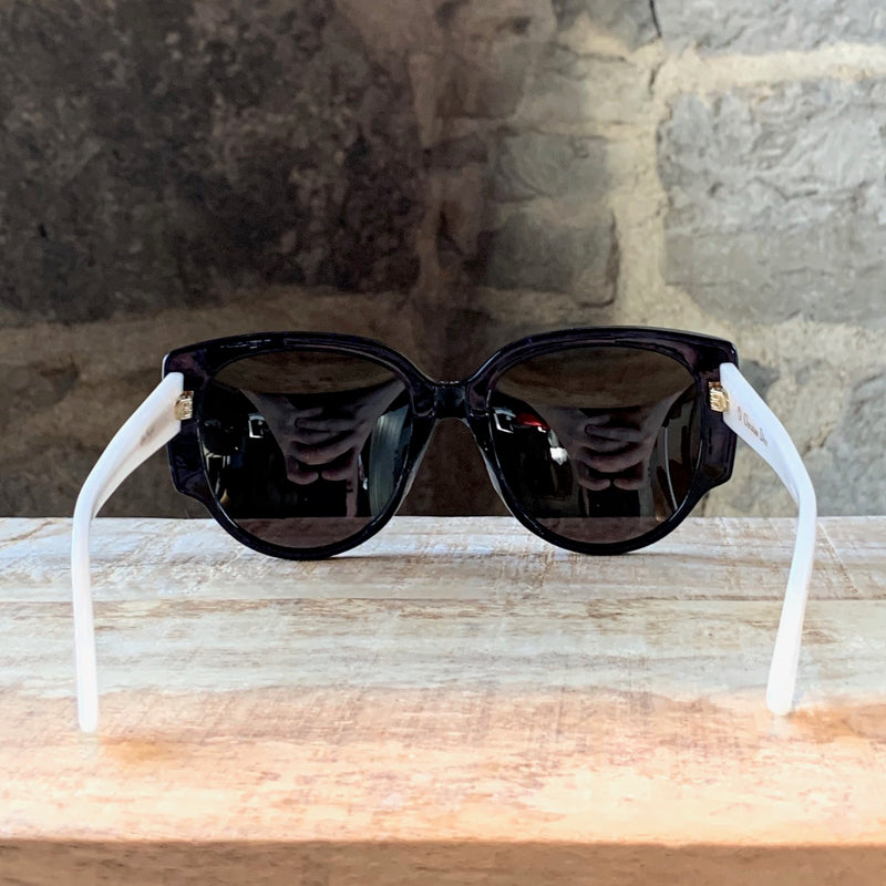 Christian Dior Night 1 Blue Mirrored Sunglasses