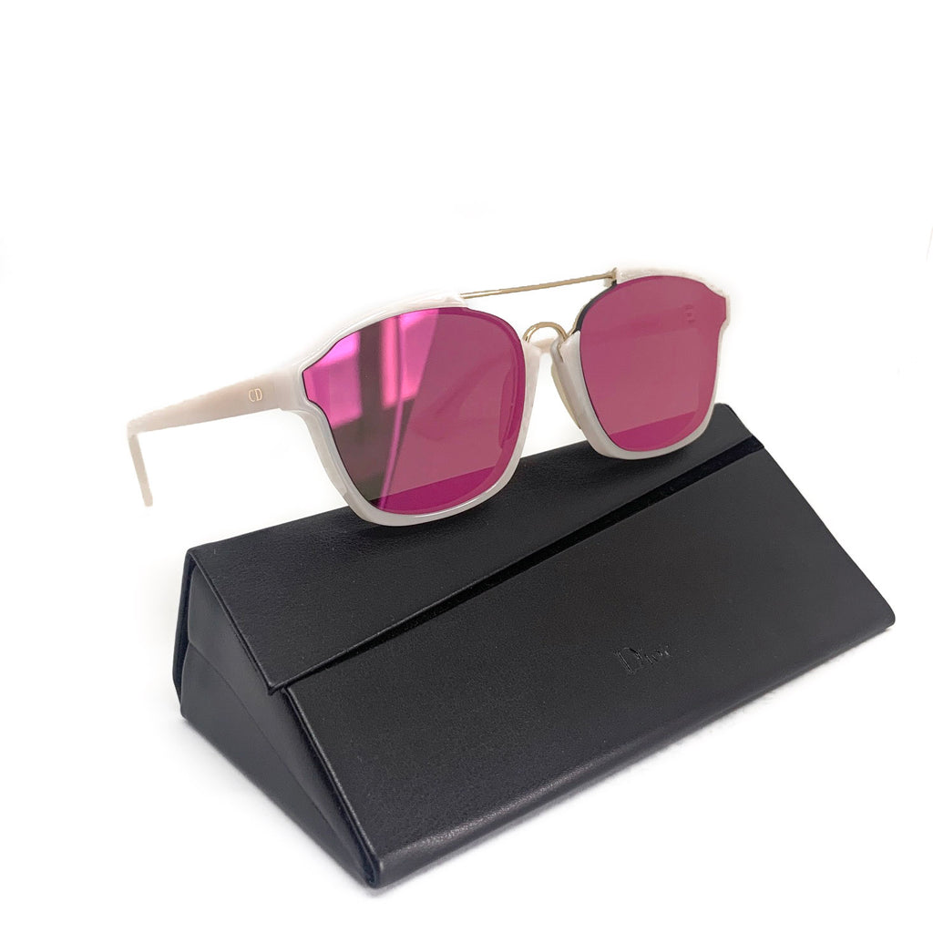 Dior Milk/Pink Mirrored Abstract 6NM9Z Sunglasses