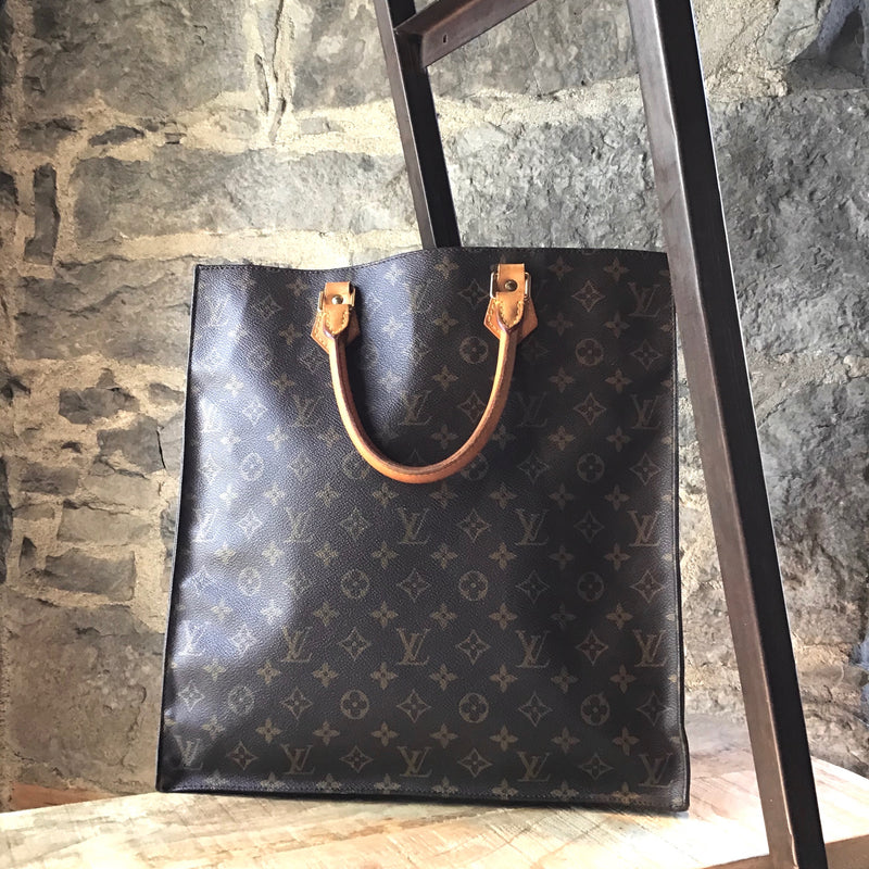 Louis Vuitton Monogram Sac Plat Tote