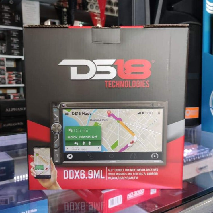 Radio DS18 DDX6.9ML - Voceteo Outlet