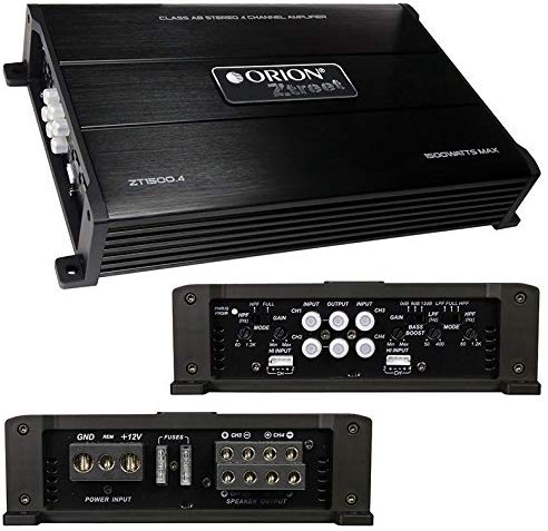 Amplificador Orion ZT1500.4 - Voceteo Outlet