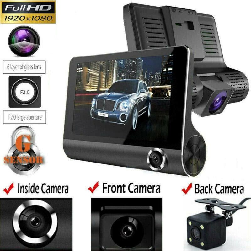 1080P Car DVR Dual Lens Dash Cam - Voceteo Outlet