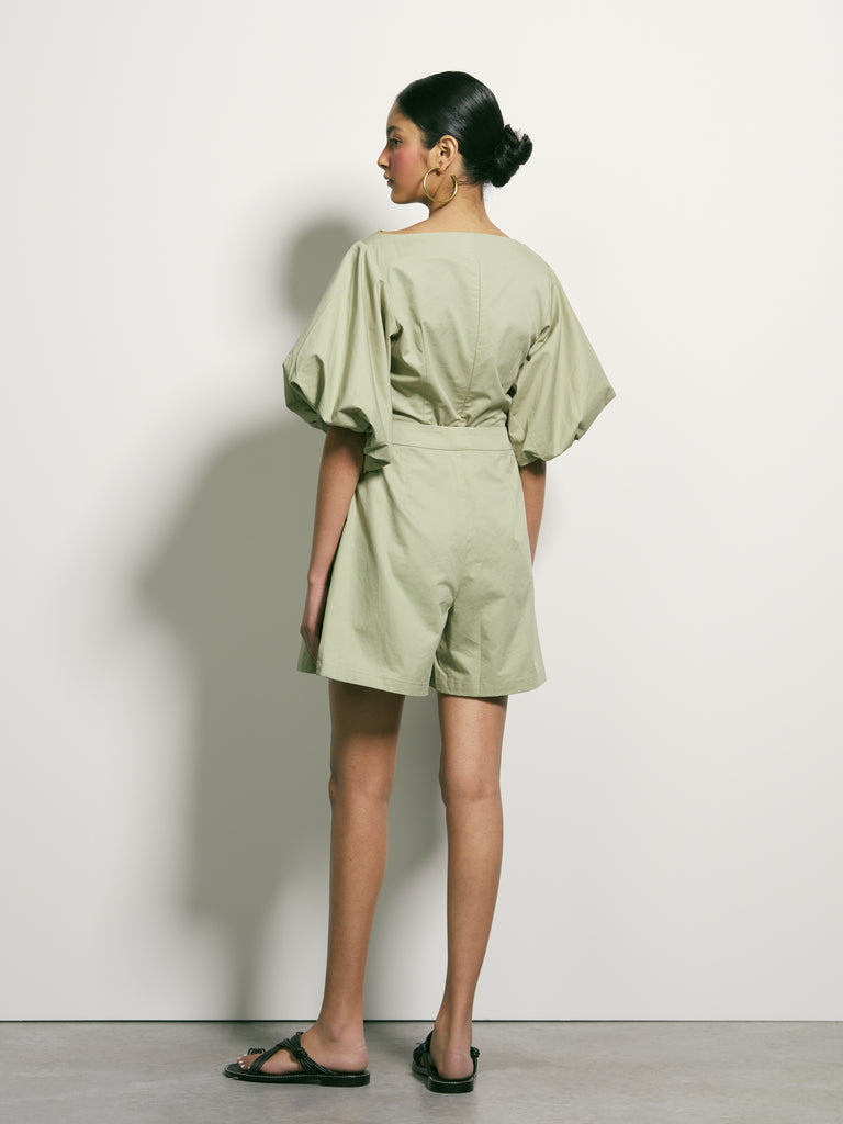 Second Sun Blouse - Sage