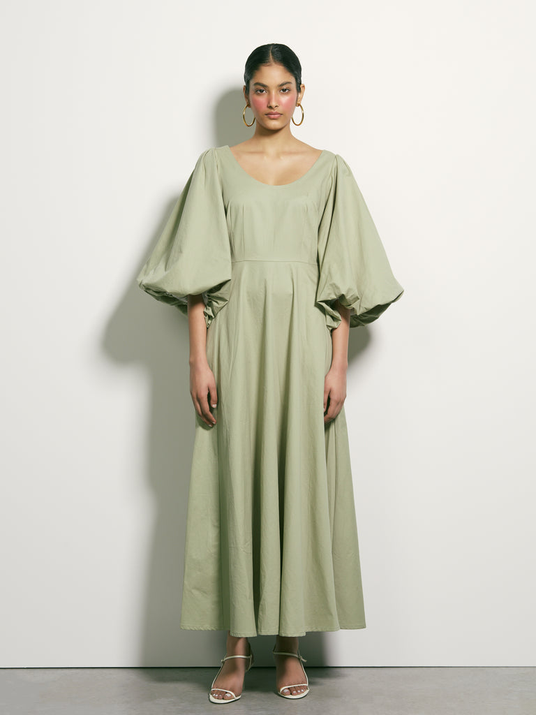 Venus Rising Dress - Sage