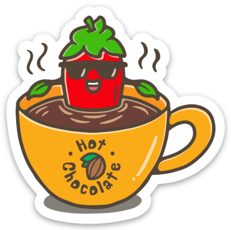 Sticker - HotChocolate (60 mm x 60 mm)