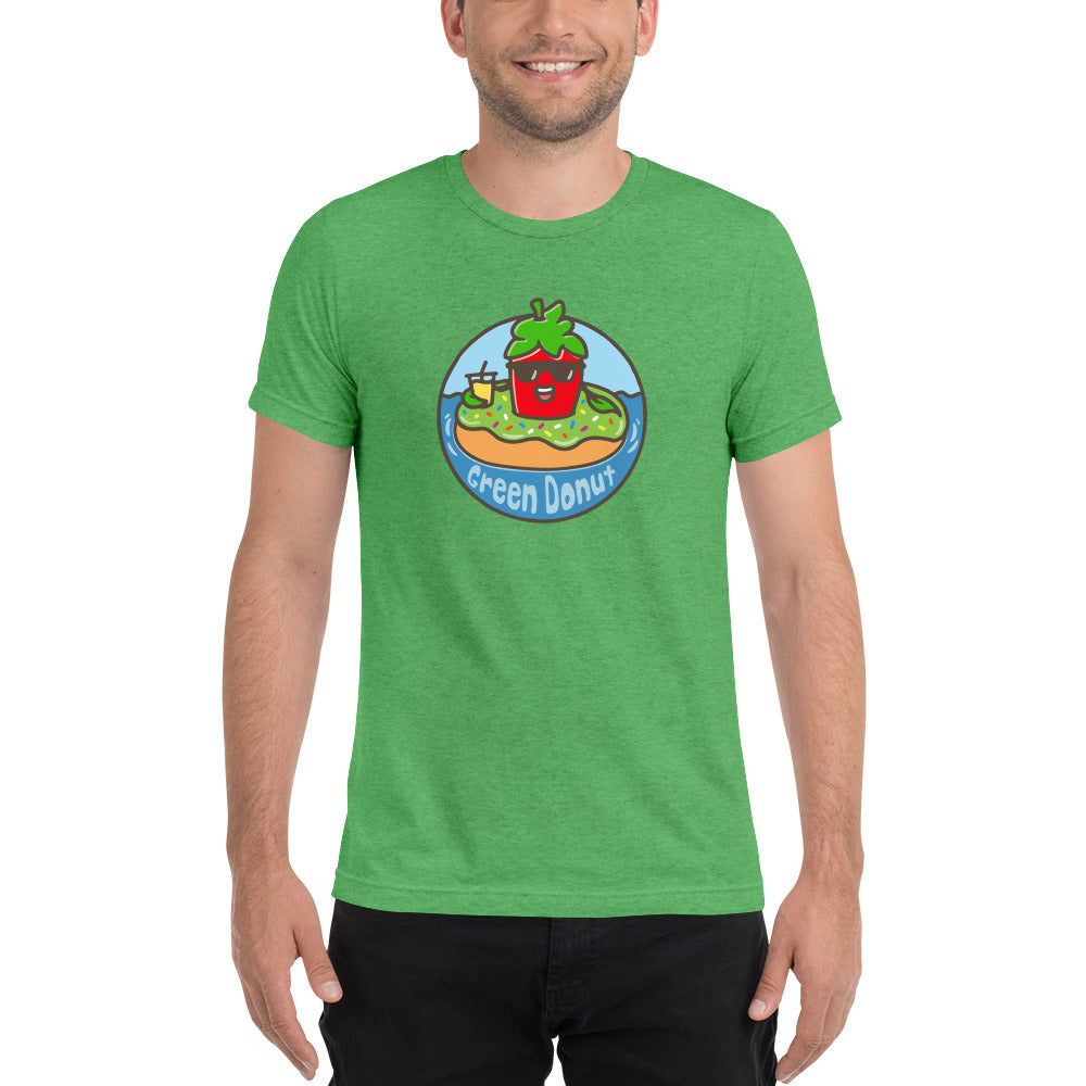 Short-Sleeve T-Shirt - GreenDonut