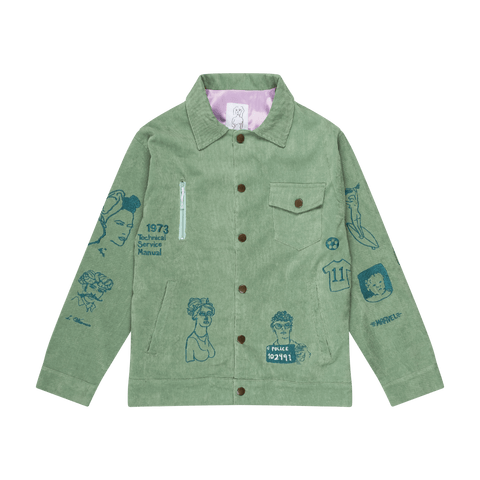Mint Coeur Du Roi Jacket