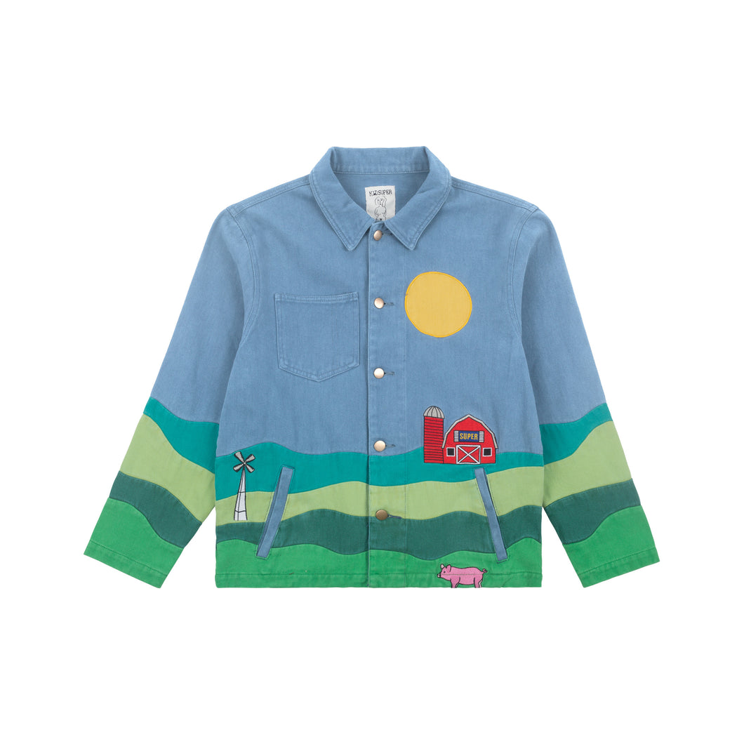 Farm Landscape Work Jacket