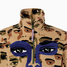 Load image into Gallery viewer, Eyes Camo Fleece Top