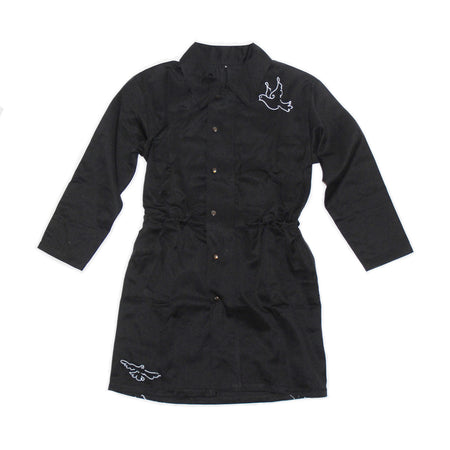 Black Dove Trench Coat