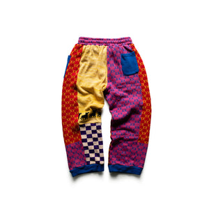 KidSuper Print Scrap Knit Pants