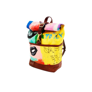 Hand Painted KidSuper BackPack