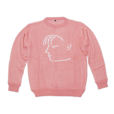 Pink Doodle Sweater