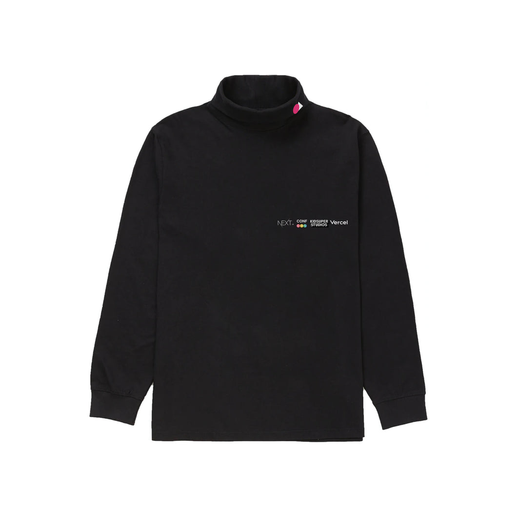 "▲Vercel Remote ""Jobs"" Turtleneck"