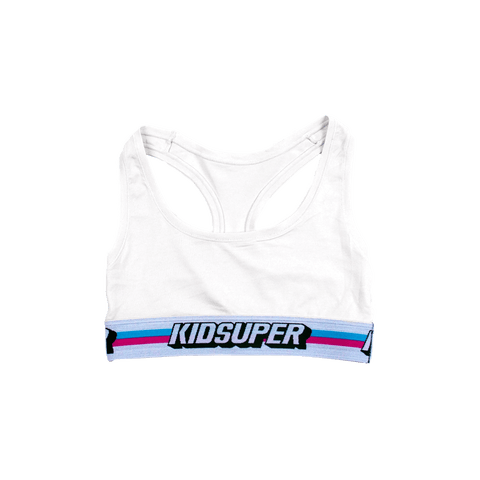 GirlSuper Sports Bra [White]