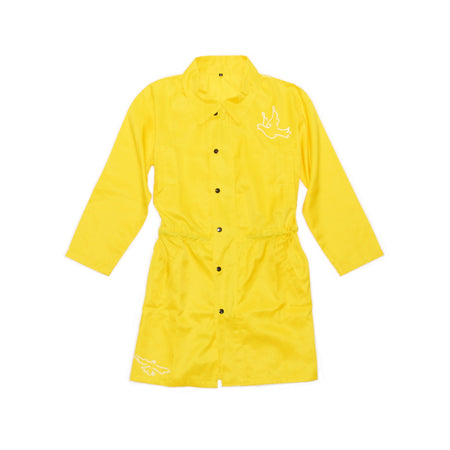 Yellow Dove Trench Coat