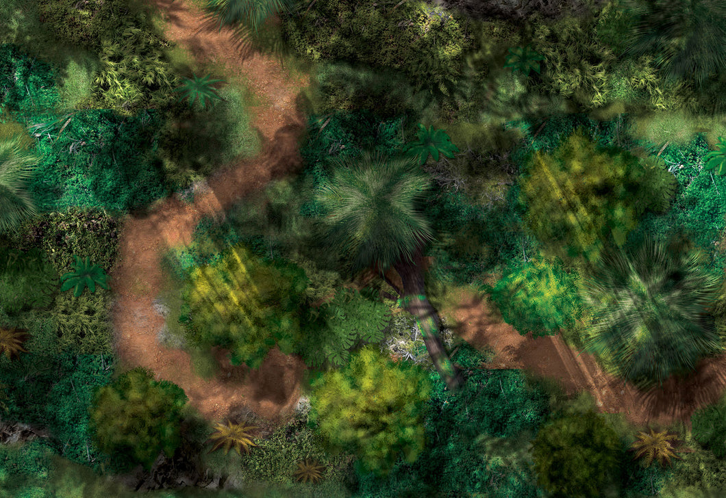 Jungle (44x30 pouces)