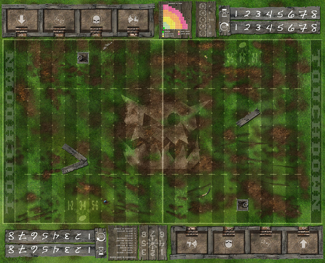 Terrain FANTASY FOOTBALL : Orques