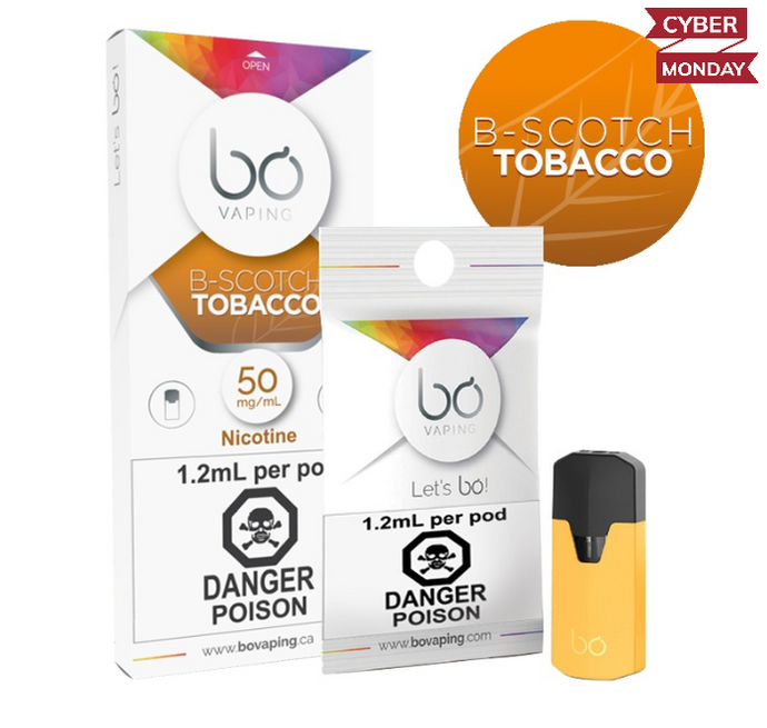 BO B-Scotch Tobacco Pods