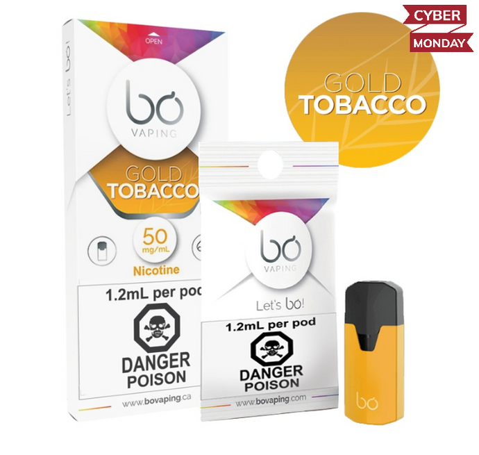 BO Gold Tobacco Pods